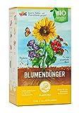 Plantura Bio Blumendünger mit 3 Monaten Langzeitwirkung für den Garten & Balkon-Pflanzen, für...