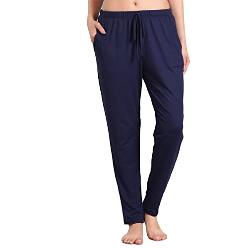 a7bed48b9188 HEYHUN Womens Athleisure Ultra Soft Knit Yoga Bottoms Casual Jogger Pants w  Pockets S-3XL