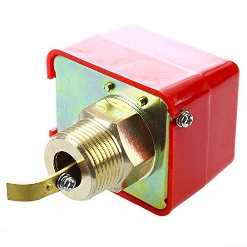 ACAMPTAR AC 220V 15A Interruptor de flujo de pala de agua macho roscado SPDT HFS-25