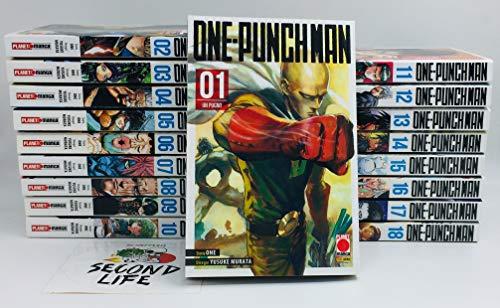 One-Punch Man serie completa da 1 a 19 - Tutti i volumi nuovi ITA - Planet Manga