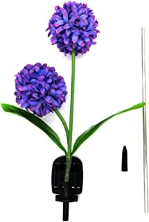 Elstey Hydrangea Flower Solar Lights, Solar Powered Outdoor Waterproof LED Lamps Garden Landscape Decoration Illumination