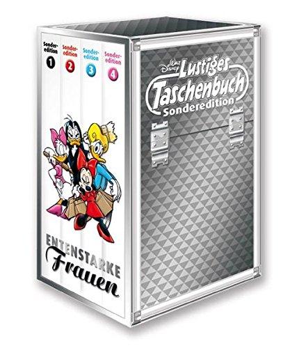 Lustiges Taschenbuch Entenstarke Frauen (4 Bände im Schuber mit Gundel Gaukeley Figur): Lustiges Taschenbuch Sonderedition