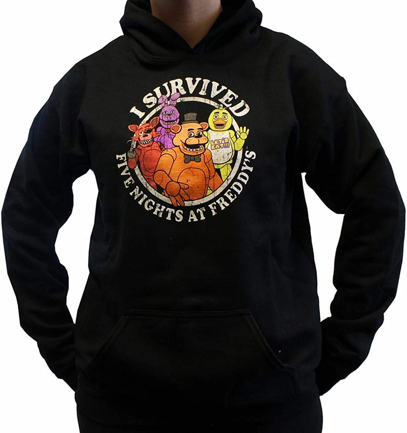 Five Nights at Freddy's I Survived Youth Hoodie Small