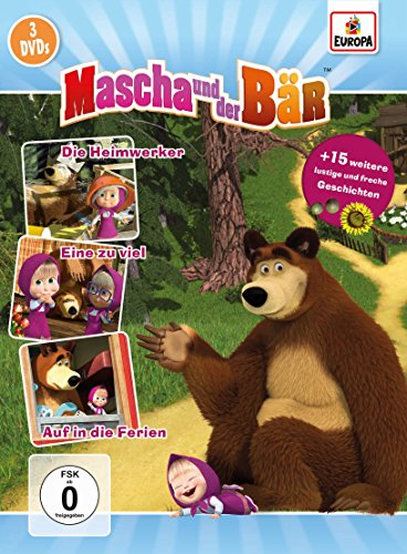 Mascha und der Bär 3er-Box 2 (Folgen 5, 6, 7) [3 DVDs]