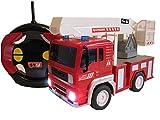 RC Feuerwehrauto ferngesteuertes Spielzeug Feuerwehr Auto Ferngesteuert NEU (Feuerwehrauto mit Hubleiter)