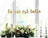 La Vie Est Bellea Vie Est Belle Bannerife is Beautiful Bannerife - Pancarta de Belle Belle Belle Belleife's Gooda Vie