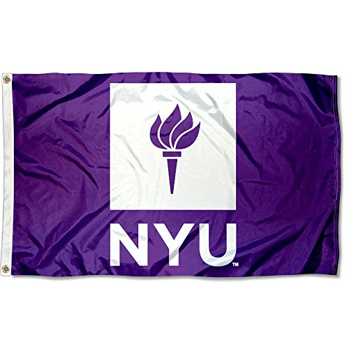 NYU Violets New York University Large College Flag