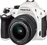 Pentax K-30 lens kit White w DA L 18-55