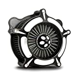 For harley Softail Dyna air cleaner 1993-2015 intake touring FLHR Road King 2000-2007 gray filter