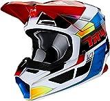 Yth V1 Yorr Helmet, Ece Blue/Red