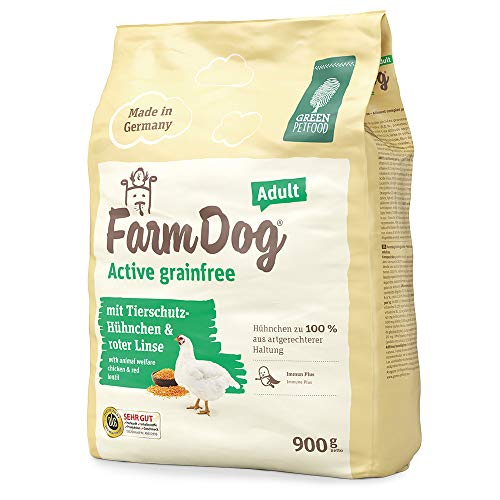 Green Petfood Farmdog Active grainfree - Pasta alimento