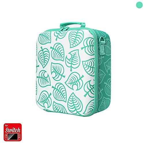 Anwow Estuche rígido para la consola Nintendo Switch y accesorios, bolsa de almacenamiento de viaje de lujo compatible con el controlador Pro