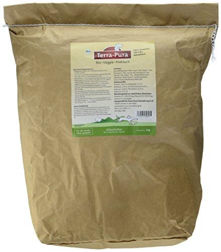 Terra Pura présure végétarienne Vegetarisches Bio Nourriture pour Chien, 1er Pack (1 x 5 kg)