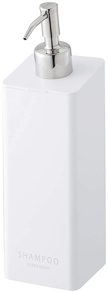 作成する追い払うモンキー山崎実業(Yamazaki) マグネットツーウェイディスペンサー シャンプー ホワイト 約W7XD9XH24cm タワー ポンプ ディスペンサーボトル 4258
