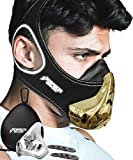 Training Mask Workout Resistance Breathing Trainer [16 Levels] Reflective with Air Filters, Bonus Case & Cover Boost Your Endurance Exercise in Fitness Gym Outdoor Sports Running Gear for Men Women