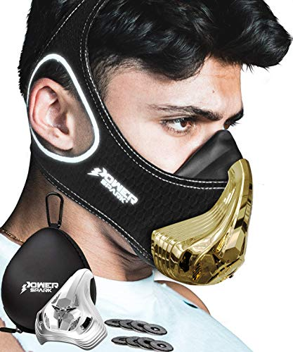 Training Mask Workout Resistance Breathing Trainer [16 Levels]...