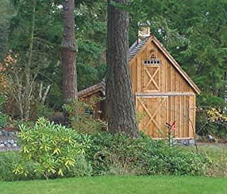 Candlewood Mini-Barn, Shed, Garage and Workshop - Pole Barn Plans