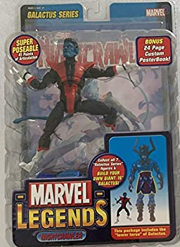 Marvel Legends Series 9 Galactus Nightcrawler Action Figure