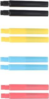 Beaupretty 8 pincéis de plástico portátil para lábios, aplicadores de pincéis de maquiagem, pincéis de sombra, aplicadores...