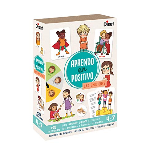 Diset - Las Emociones Juego Aprendo en Positivo, Multicolor, 41201