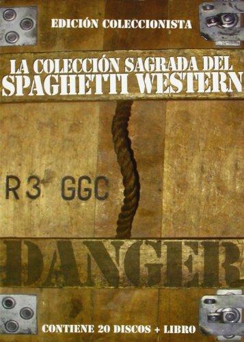 La colección sagrada del SPAGHETTI WESTERN - 20 unidades y libreto con textos y fotografías [DVD]