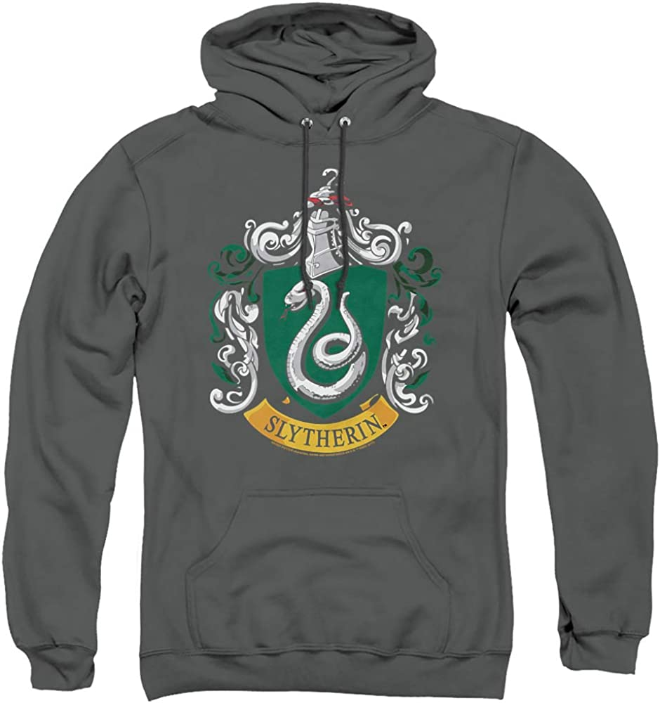 Harry Potter Slytherin Crest Hoodie Adult Bombing new work Pull-Over Unisex Sale SALE% OFF
