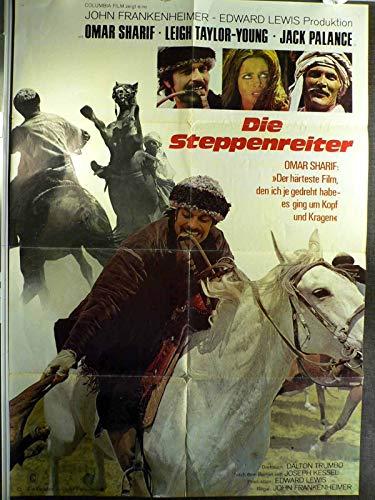 Die Steppenreiter - Omar Sharif - Jack Palance - Filmposter A1 84x60cm gefaltet