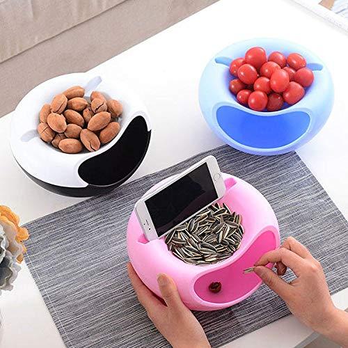 Honana HN-B20 Caja de almacenamiento multifunción para frutas Snacks Tuercas Organizador para el hogar Accesorios