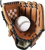 Wonninek Guante de béisbol Guantes Deportivos de bateo con Piel sintética de béisbol Ajustables y cómodos 11.5 Pulgadas Mano Derecha, Mano Izquierda