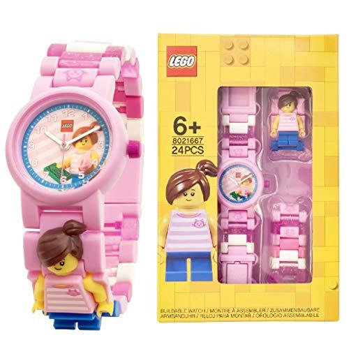 Lego Unisex-Kinder analog Quarz Uhr mit Plastik Armband 8021667
