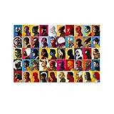6477-guardians of The Galaxy Comic Poster dekorative