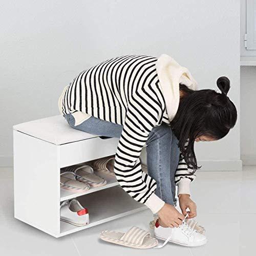 Ranuras de zapato ajustables Organizador Bastidore Zapatos Gabinete de 2 niveles de zapatería de zapatos de zapatos zapatos zapatos de almacenamiento Organizador de almacenamiento con un juego acolcha