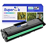 SuperInk 1 Pack Compatible Toner Cartridge Replacement for Samsung MLT-D101S D101S 101S MLTD101S Black Use in ML-2166W ML-2160 ML-2165 SCX-3405W ML-2165W SCX-3405FW SCX-3400 SCX-3401FH Printer