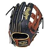 ローリングス(Rawlings) 野球用 軟式 HOH® MLB COLORSYNC [外野手用] サイズ13.0 GR1HMY70 ネイビー/ブラウン サイズ 13 ※右投用