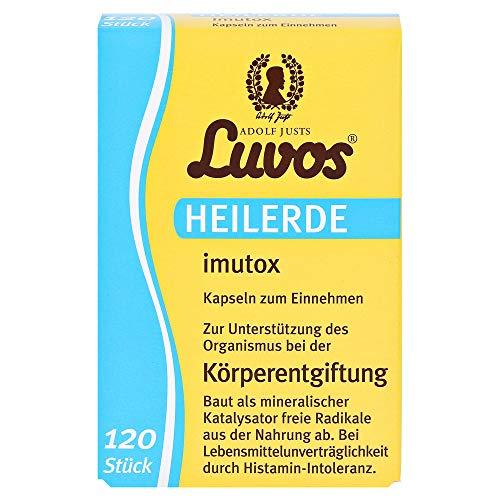 Luvos geneeskrachtige aarde imutox capsules lichaamsontgifting, 120 St. capsules