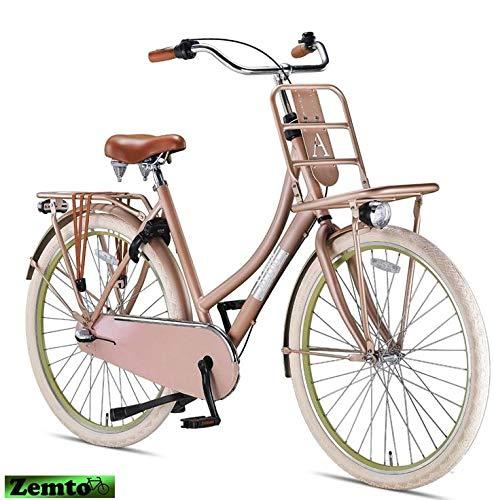 Damen Hollandrad Altec Vintage 28 Zoll 3 Gang 57 cm Alt-Pink
