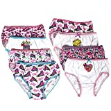 Handcraft JoJo Siwa Girls Panties Underwear - 8-Pack Toddler/Little Kid/Big Kid Size Briefs Dance