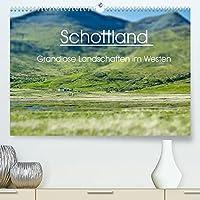 Schottland - grandiose Landschaften im Westen (Premium, hochwertiger DIN A2 Wandkalender 2022, Kunstdruck in Hochglanz): Wunderbare Highlands und Hebriden-Inseln (Monatskalender, 14 Seiten )