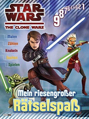 Star Wars - The Clone Wars: Mein rieselgroßer Rätselspaß