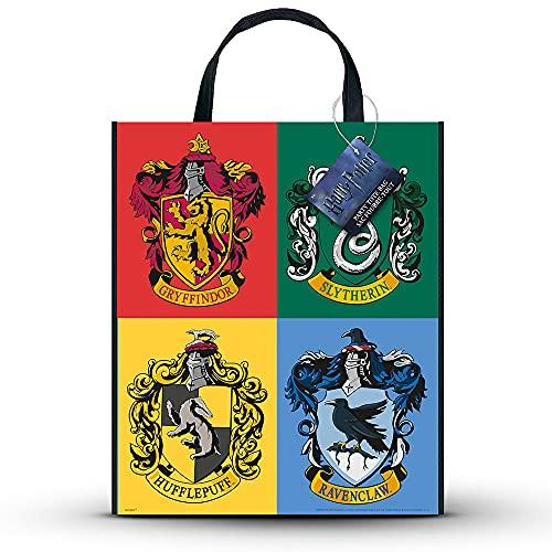 Unique Party 59083 - Bolsa grande de plástico para fiesta de Harry Potter, 33 cm x 28 cm