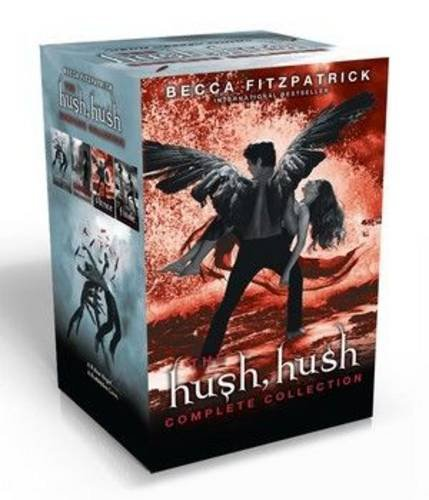 Hush, Hush PB slipcase x 4: The Complete Collection