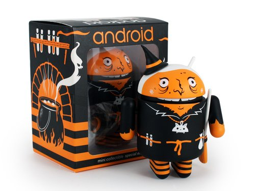 Google Android Mini Collectibles Halloween 2015 Warty Witch Limited Edition