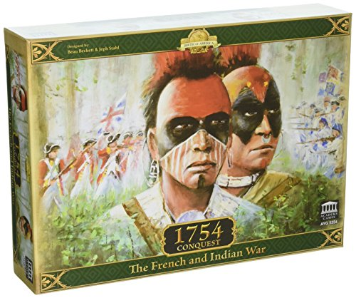 Academy Games ACA05354 Brettspiel 1754 Conquest-The French and Indian War