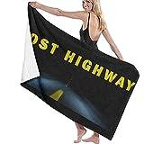 Edmun Toalla Cojín Lost Highway Poliéster de Secado rápido 80x130cm