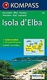Kompass Karten, Isola d' Elba (CARTE DE RANDONNEE - 1/30.000, Band 650) - 650 Kompass