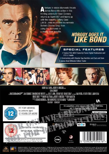 Diamonds Are Forever [DVD] [1971]