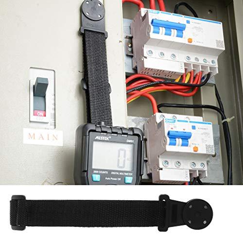 BIlinli Tragbarer Hängeschlaufe & Magnethalter für Fluke TPAK Digitalmultimeter