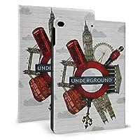 Ipad 2018 2017 ケース アイパッド 2017 9.7 Ipad Air2 Ipad Air ケース 手帳型保護カバー ロンドン 全面保護 耐衝撃 傷つけ防止 二つ折 超軽量 オートスリープ 高級pu レザーケース