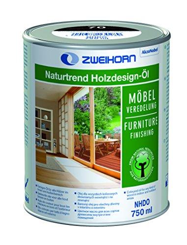 Zweihorn® - Naturtrend Holzdesign-Öl NHDO 10 weiss 750ml - für Aussen und Innen
