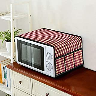 Home Layer Microwave Oven Top Cover 23 LTS to 32 LTS with Pockets (35 x 19 inch)
